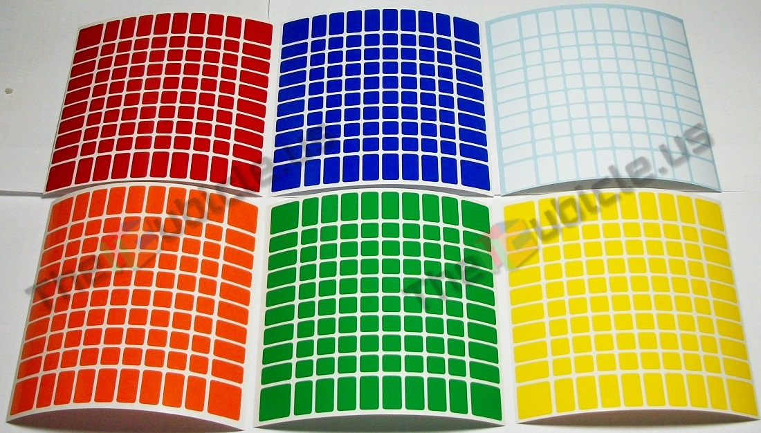 thecubicle us 10x10 standard set 102mm 10x10 sticker picker 102mm