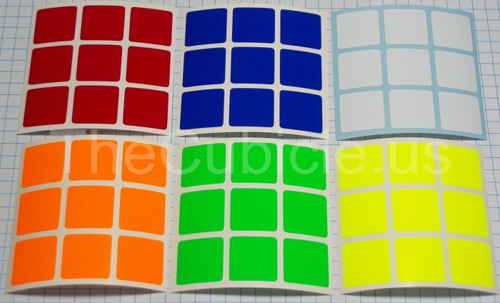 thecubicle : 3x3 half-bright set 50mm : 3x3 sticker picker 50mm