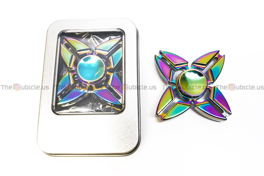 The Fidget Quad Spinner Is A Unique 4 Pronged Spinner. It Is The 4 Prong  Version Of The Fidget Tri Spinner II, And It Is Only Available With A  Metallized ...