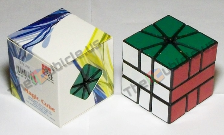 Its Sticker Color Scheme Is Different From Other Mainstream Square 1 Schemes In That Blue And Green Are