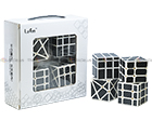 Lefun Hollow Sticker Monochrome Cube Gift Box
