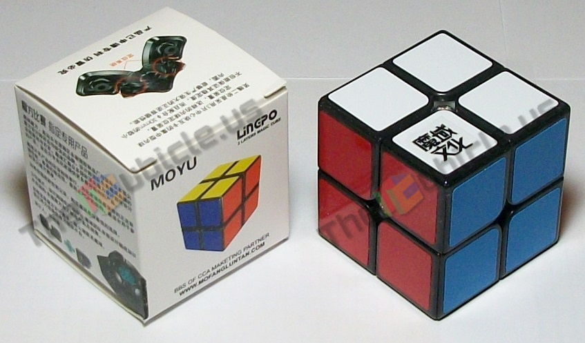 The moyu lingpo 2x2 is the first 2x2 in the moyu series which has