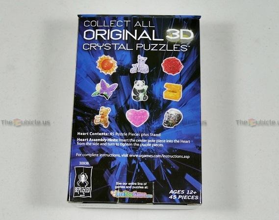 original 3d crystal puzzle elephant instructions