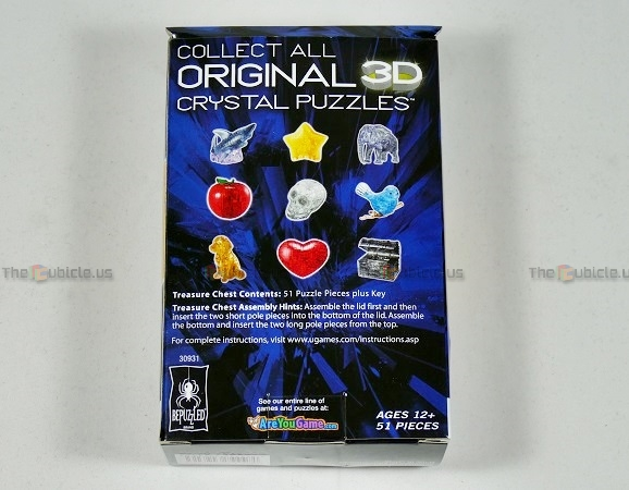 original 3d crystal puzzle elephant instructions