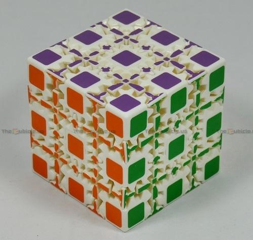 thecubicle us   z 5x5 gear cube   gear cubes